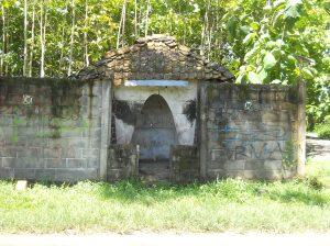 Pos jaga peninggalan Belanda di daerah Kolowenang, Sendangmulyo